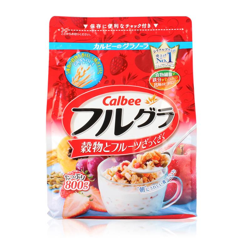 卡乐比麦片 水果营养麦片 800g -0