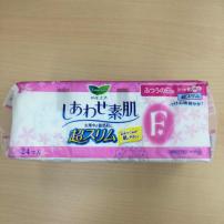 花王日用绵柔护翼卫生巾20.5cmF敏感肌透气 24片