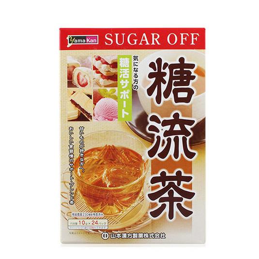 山本汉方制药糖流茶10 gX 24包-0
