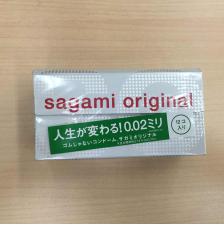 相模sagami 0.02mm 避孕套  12片