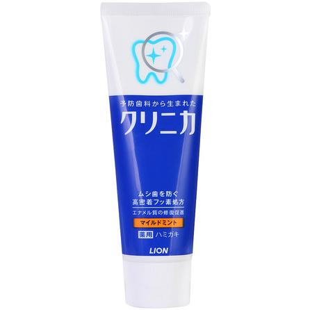 日本LION 狮王CLINIC酵素洁净防护牙膏130g 清新薄荷 防蛀牙-0