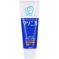 日本LION 狮王CLINIC酵素洁净防护牙膏130g 清新薄荷 防蛀牙