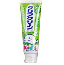 日本进口 花王儿童牙膏 木糖醇氟素防蛀防龋齿 70g 哈密瓜味