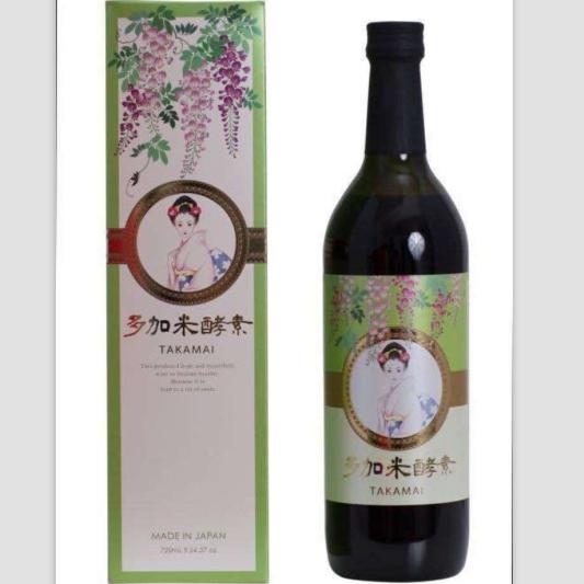 日本原装进口 保健食品 美容饮品  TAKAMI 酵素原液 720ml