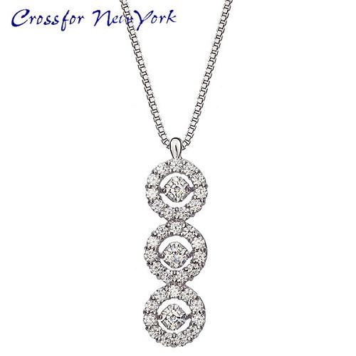 Crossfor 纽约闪烁银 3Flower