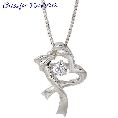 项链 银 Crossfor 纽约 礼物