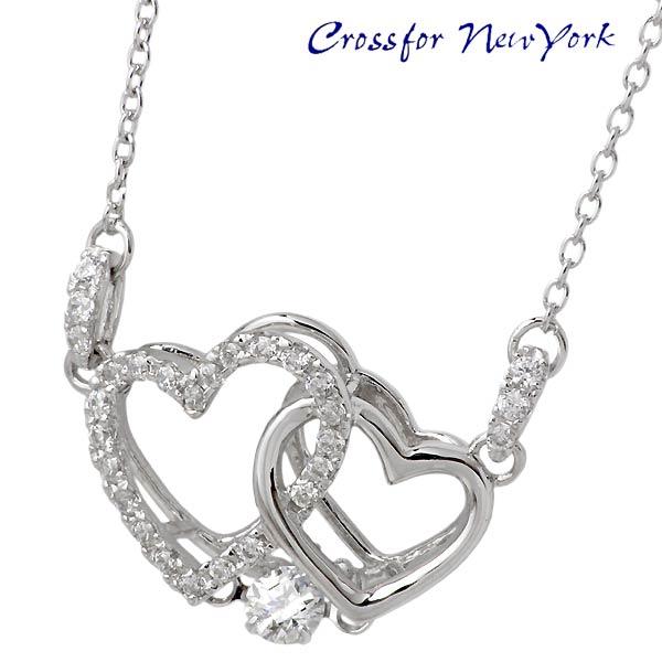 女士银项链 Crossfor 纽约 佐藤美惠子梨设计