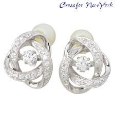 Crossfor NewYorkLoop1 银耳环