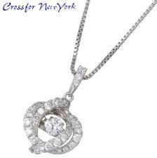 香石竹 Crossfor 纽约闪烁银香石竹项链