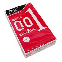 【冈本史上最薄安全避孕套】 冈本001超薄安全套避孕套0.01*3个装