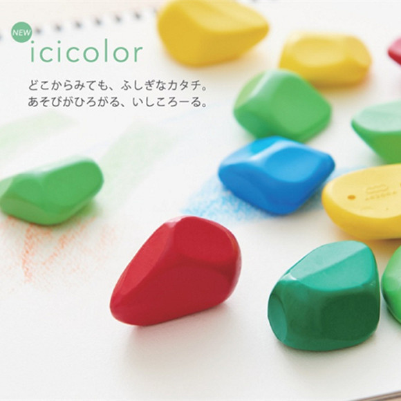 icicolor 儿童蜡笔 安全无毒-0