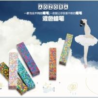 日本DotFlowersCrayon彩虹儿童蜡笔