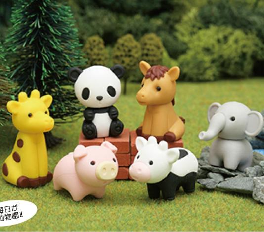 日本Iwako橡皮擦 动物园 ER-DOU002