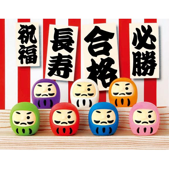 日本Iwako橡皮擦 仿真橡皮 开运不倒翁 ER-DAL001-0