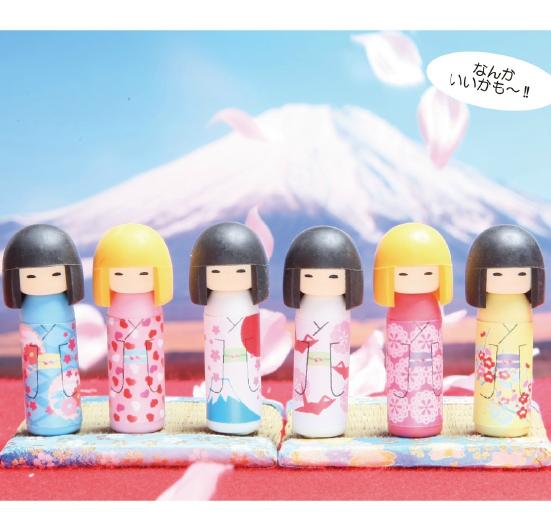 日本Iwako橡皮擦 日本娃娃  ER-COK001
