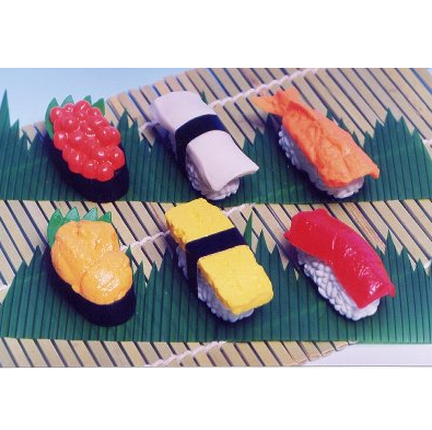 日本Iwako趣味橡皮擦 寿司造型 ER-951021