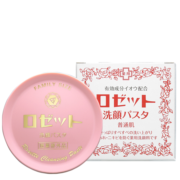Rosette 诗留美屋 硫磺洗颜洁面膏 粉色普通肌肤用 90g