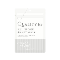 Quality First All IN ONE SHEET 美白面膜 1袋/5枚 白色