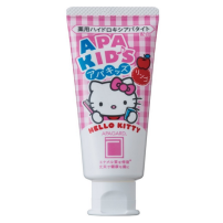 日本apagard Hello Kitty儿童牙膏 60g