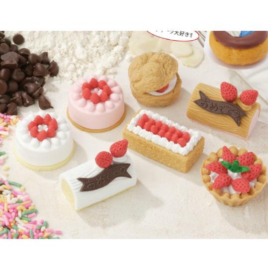 日本Iwako趣味橡皮擦 蛋糕甜点造型 ER-KEI002