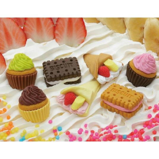 日本Iwako趣味橡皮擦 蛋糕甜点造型 ER-KEI003