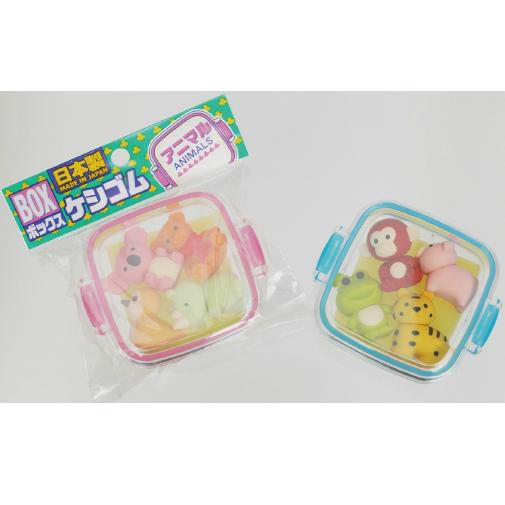日本Iwako趣味橡皮擦 动物系列 一盒 ER-981073