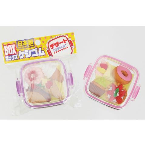 日本Iwako趣味橡皮擦 点心零食系列 一盒 ER-981066