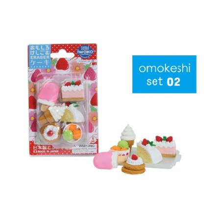 日本Iwako趣味橡皮擦 蛋糕冰激凌系列 泡罩包装 ER-981011