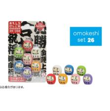 日本Iwako趣味橡皮擦 不倒翁系列 泡罩包装 ER-BRI030