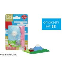 日本Iwako趣味橡皮擦 富士山 神社 泡罩包装 ER-BRI036