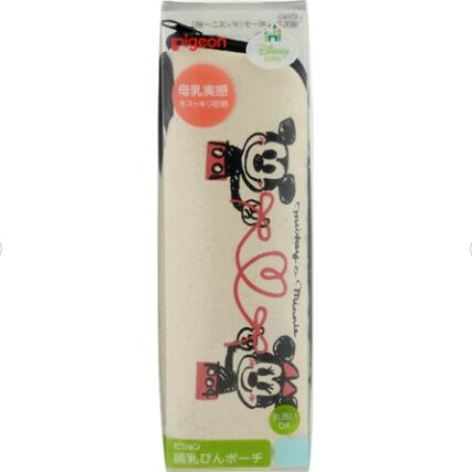 日本 贝亲(Pigeon)扇形奶瓶保温袋(迪士尼花纹)