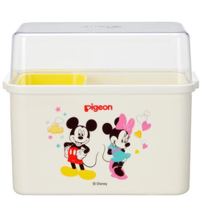日本 贝亲(Pigeon)奶瓶收纳箱 储物盒 Disney迪士尼