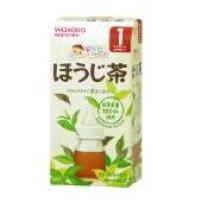 日本 和光堂wakodo 烘培茶粉末 10包
