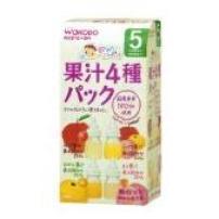 日本 和光堂wakodo 四种口味果汁粉末 10包