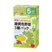 日本 和光堂 辅食料理 妈妈帮手什锦口味蔬菜泥三种 健康
