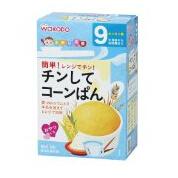 日本 和光堂 健康开胃 辅食料理 妈妈帮手玉米面包粉