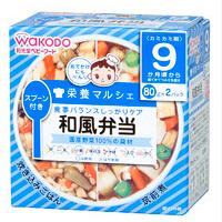 和光堂 日本 正品 健康方便 乌冬+鸡蛋羹套餐 批发