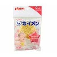 贝亲 日本 K236天然海绵浴擦 宝宝洗浴沐浴