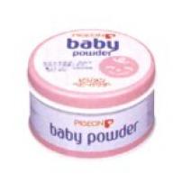 贝亲 日本 婴儿药用爽身粉 痱子粉(粉色罐微香型)150g