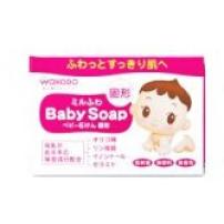 和光堂 日本 Milufuwa婴儿香皂 宝宝沐浴肥皂