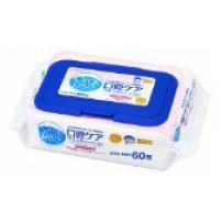 日本 和光堂 口腔护理湿巾温和配方 60片