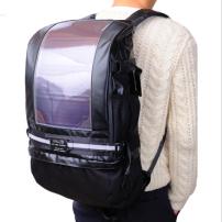 日本 halos 太阳能充电包 简约双肩包  环保时尚