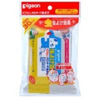 日本 贝亲  婴儿童驱蚊湿巾 防蚊湿纸巾 30片