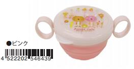 日本 Monseuil 婴儿点心碗  粉色 4522202546439