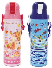 日本 Monseuil 轻便保温瓶(不锈钢内胆)女孩粉 4522202304374