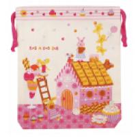 日本 Monseuil 儿童收纳包腰包M号 女孩粉 4522202304251