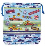 日本 Monseuil 儿童收纳包腰包M号 男孩蓝 4522202304268