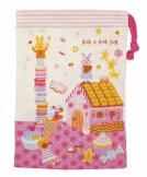 日本 Monseuil 儿童牙刷收纳包 女孩粉 4522202304299