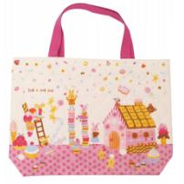 日本 Monseuil 儿童单肩包背包 女孩粉 4522202304138