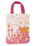日本 Monseuil 儿童鞋袋鞋包 女孩粉 4522202304152